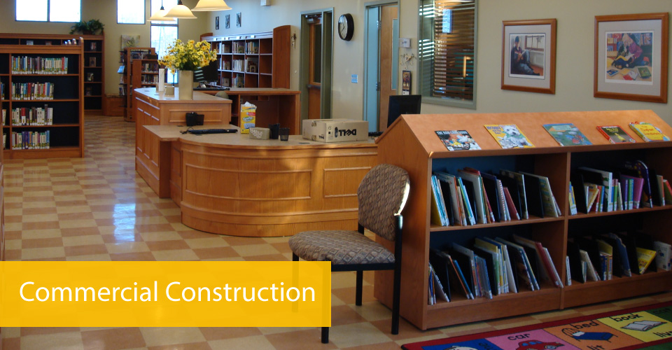 Library - Commercial construction